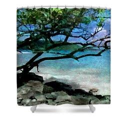 Tropical Utopia  Shower Curtain