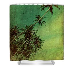 Tropical Vestige Shower Curtain by Andrew Paranavitana