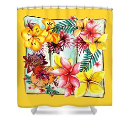 Shower Curtain featuring the photograph Tropicana By Kaye Menner by Kaye Menner