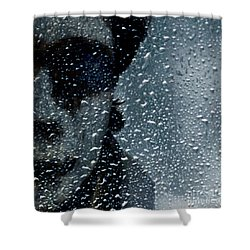 Troubles Shower Curtain