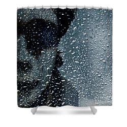 Troubles Shower Curtain