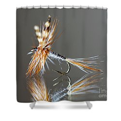 Trout Fly 2 Shower Curtain