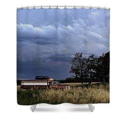 Truck Shower Curtain