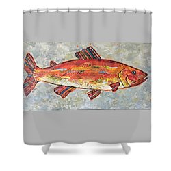 Trudy The Trout Shower Curtain