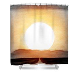True God Shower Curtain
