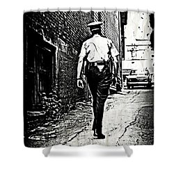 True Grit Shower Curtain by John Malone