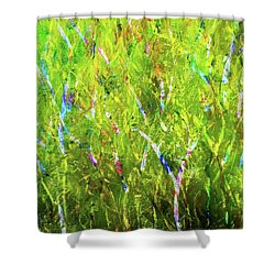 True Shower Curtain by Heidi Scott