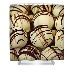 Truffles Shower Curtain by Paul Wilford