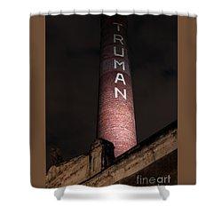 Truman Chimney In Brick Lane Shower Curtain