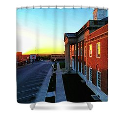 Truman Courthouse  Shower Curtain by Dave Luebbert