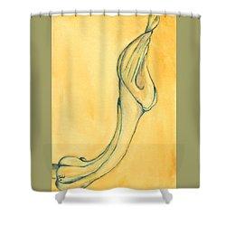 Trumpet Suspended Shower Curtain
