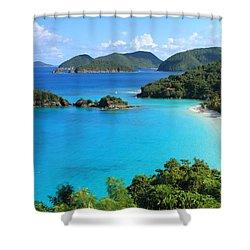 Trunk Bay St. John Shower Curtain