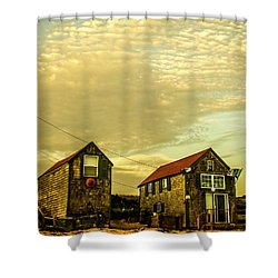 Truro Beach Houses Shower Curtain