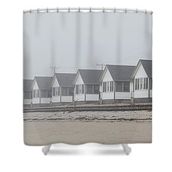 Truro Fog Imagination Shower Curtain