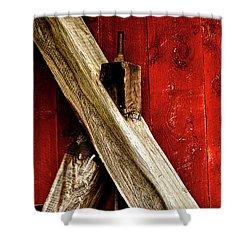 Trussed Bridge Shower Curtain