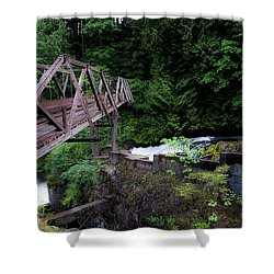 Trussting Shower Curtain