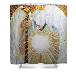 Trust - Michaelarchangel Series Shower Curtain