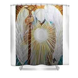 Trust - Michaelarchangel Series Shower Curtain