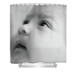 Trust Of A Child Shower Curtain