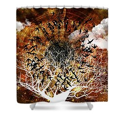 Try Everything Shower Curtain