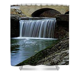 Tryst Falls Shower Curtain