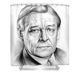 Ts Eliot Shower Curtain by Greg Joens