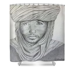 Tuareg Beduin Shower Curtain