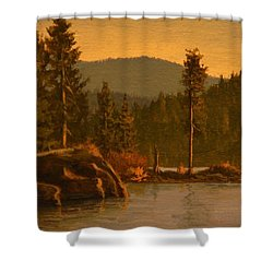 Tubbs Hill 2017 Shower Curtain