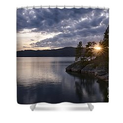 Tubbs Sunset Shower Curtain