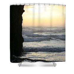 Tucked Away  Shower Curtain
