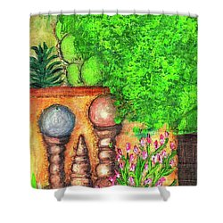 Tucson Garden Shower Curtain