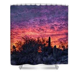 Tucson Sunrise Shower Curtain