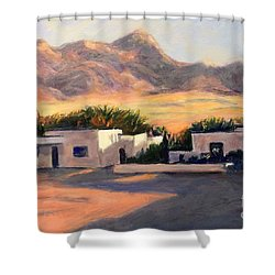 Tucson,az Shower Curtain by Marcia Dutton