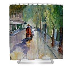 Tudo Street, Saigon 9 Shower Curtain