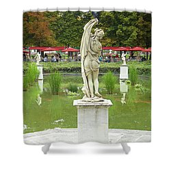 Tuileries Trollop Shower Curtain