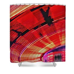 Tulare Fairgrounds Shower Curtain by John Swartz