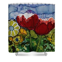 Tulip Bonanza Shower Curtain