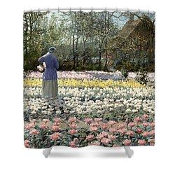Tulip Culture Shower Curtain