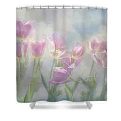 Tulip Dreams Shower Curtain