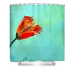 Tulip Memory Shower Curtain by Lisa Kaiser