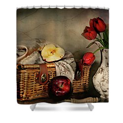 Basket And All Shower Curtain