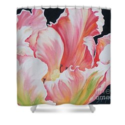 Tulip Sold Shower Curtain