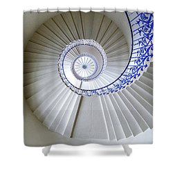 Tulip Staircase Shower Curtain by Jae Mishra