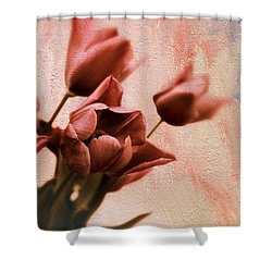 Shower Curtain featuring the photograph Tulip Whimsy by Jessica Jenney