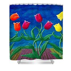 Tulip Tango Shower Curtain