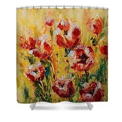 Tulip Waltz Shower Curtain