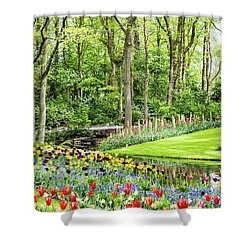 Tulip Wonderland - Amsterdam Shower Curtain
