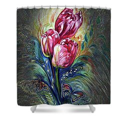 Tulips Fantasy Shower Curtain