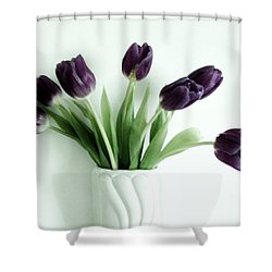 Tulips For You Shower Curtain by Marsha Heiken