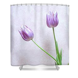 Shower Curtain featuring the photograph Tulips by Karen Shackles